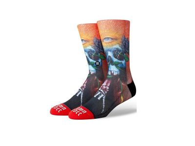 STANCE ANTHEM SHAWN BARBER M545A19SHA RED zeķes